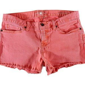 Lucky Brand Riley Shorts Womens Size 8 Salmon Colo